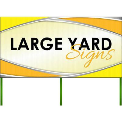 Large Yard Signs