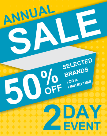 Annual Sale (11x14) Double Sided